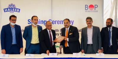 Haleeb Foods partners with Bank of Punjab for financial assistance to its dairy farmers