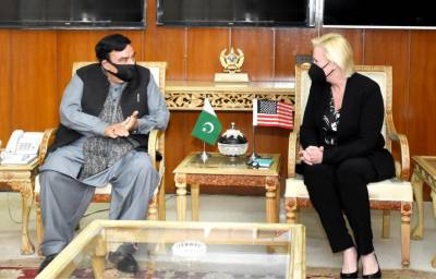 Sustainable peace in Afghanistan is a common goal of Pakistan and the United States, Interior Minister Sheikh Rasheed Ahmed spoke with US Charge 'D' Affairs Angela P. Aggeler