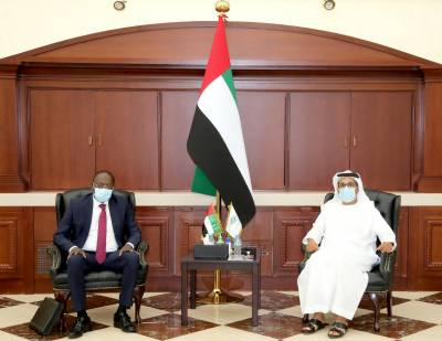 Abu Dhabi Fund Hosts Benin Minister, Discusses Cooperation Expansion
