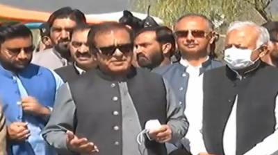 The inauguration ceremony of the three-day Tourism Family Fair in Islamabad was attended by Federal Minister for Information and Broadcasting Senator Shibli Faraz