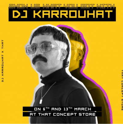 THAT' Concept Store partners with DJ Karrouhat for the ultimate music competition