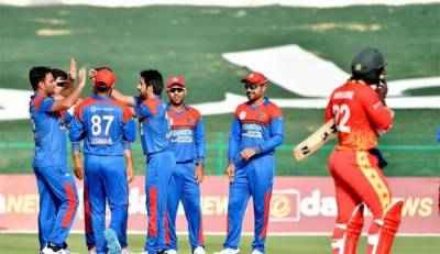 Afghanistan also beat Zimbabwe in the second T20