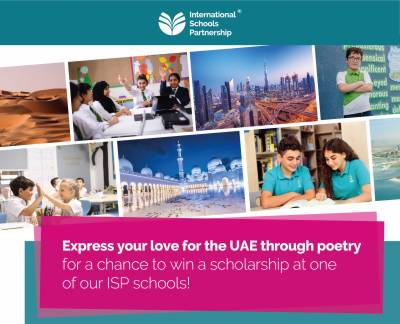 International Schools Partnership invites Students to Share their Love for the UAE through Poetry