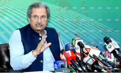 Educational institutions in 9 districts of federal capital and Punjab will remain closed till April 11: Shafqat Mahmood