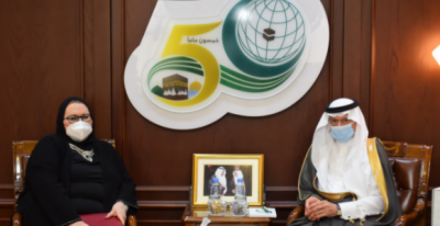 OIC Secretary-General Meets the Deputy Prime Minister, Minister of Foreign Affairs of Bosnia and Herzegovina