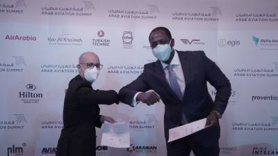 Zimbabwe's Gweru Airport and PLM Middle East announce strategic partnership at the 2021 Arab Aviation Summit