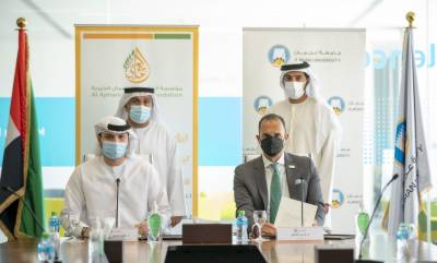 Ajman University and Al Ajmani Charity Foundation to Launch Two New Endowed Scholarships for Underprivileged Students