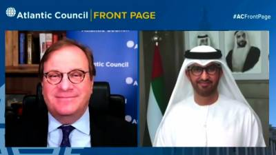 UAE Views Climate Challenge as Economic Opportunity in virtual Atlantic Council session ahead of Leaders Summit on Climate