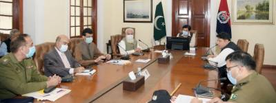 IG Punjab chairs video link session on crime control, security and Corona SOPs in last decade of Ramadan.