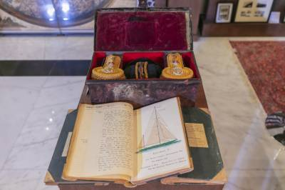 Unpublished journal offers fascinating insights into 1930's Middle East at SBA's 'Tales from the East' exhibition