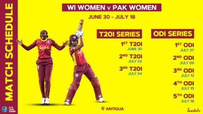 West Indies to host Pakistan Women and first ever A Team Tour as Women's International cricket returns to the Caribbean