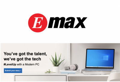 Emax Launches #LevelUp with A Modern PC Campaign