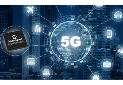 First Single-Chip Network Synchronization Solution from Microchip Technology Provides Ultra Precise Timing for 5G Radio Access Equipment