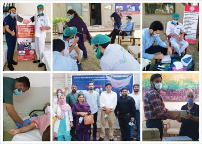 Haleeb Foods joined hands with Sundas Foundation to support thalassemia patients